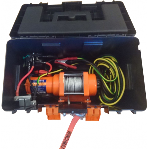 "3000lbs portable winch ""Winch in a box"""