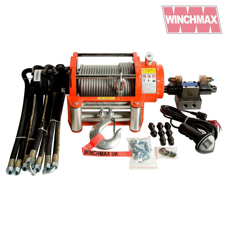 Winchmax Hydraulic Winch 10.000lb