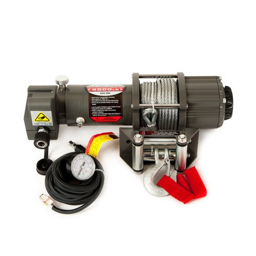 Winchmax 4000lb winch with compressor and steel rope