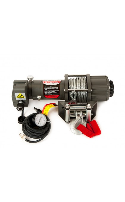 Winchmax 4000lb winch with air compressor and steel rope
