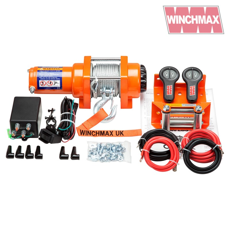 Winchmax 3000lb Steel Rope