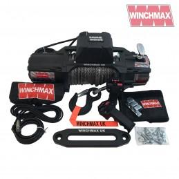 Troliu Winchmax SL 13500lb Military cu sufa sintetica