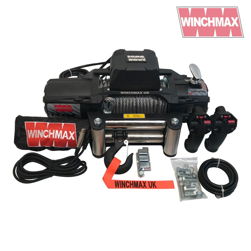 Winchmax SL13500lb Military Steel Rope