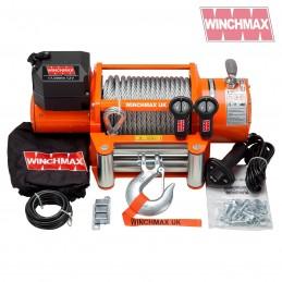 Troliu Winchmax 17000lb cu cablu otel