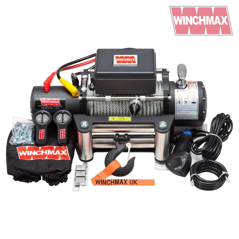 Winchmax Military 13000lb Steel Rope