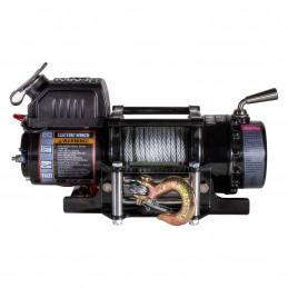Troliu Warrior 4500lb Ninja cu cablu otel