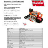 Winchmax 17000lb Steel Rope