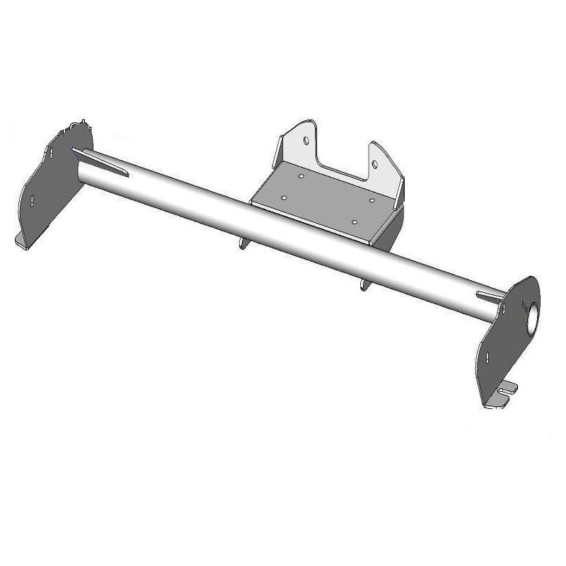 Winch support for Dacia Duster