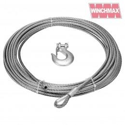 Cablu otel 9.5mm pentru trolii