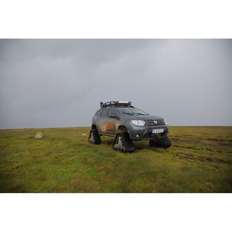 Rubber Tracks Conversion Systems for Dacia/ Renault Duster