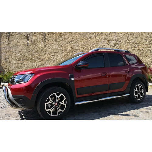 Dacia Duster Stainless steel Side Skirts