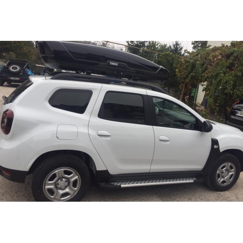 Dacia Duster Aluminum Side skirts