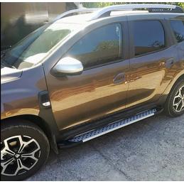 Praguri laterale aluminiu Dacia Duster