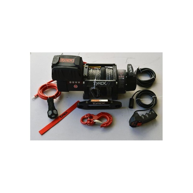 Tyrex 8000SP Compact Synthetic Rope Winch