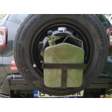 Mudster spare wheel carrier