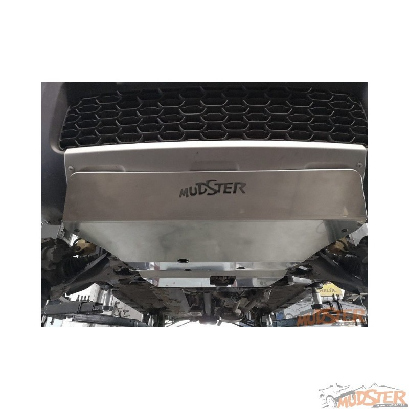 Aluminum shield for engine,gearbox and bumper