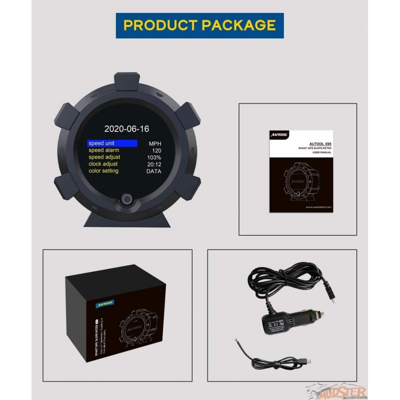 AUTOOL X95 GPS Slope Meter