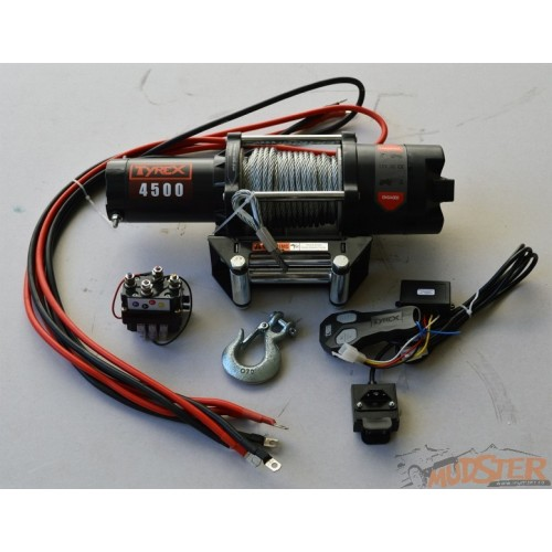 Tyrex 4500AP steel cable Winch