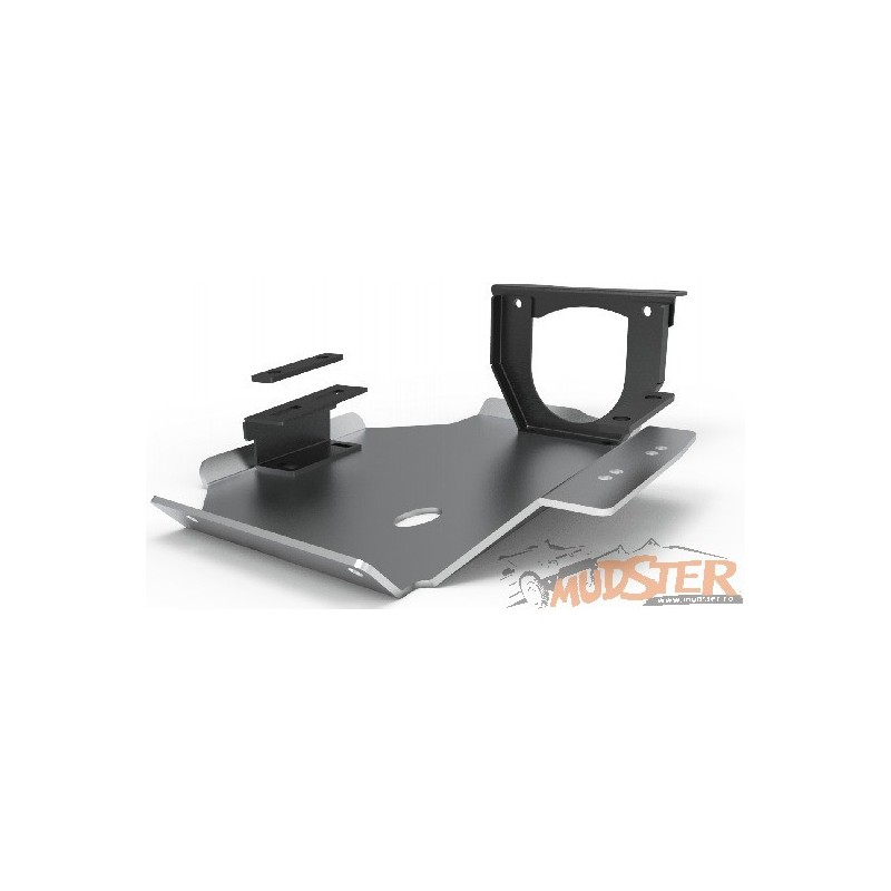 Aluminum shield for differential 2014 - present