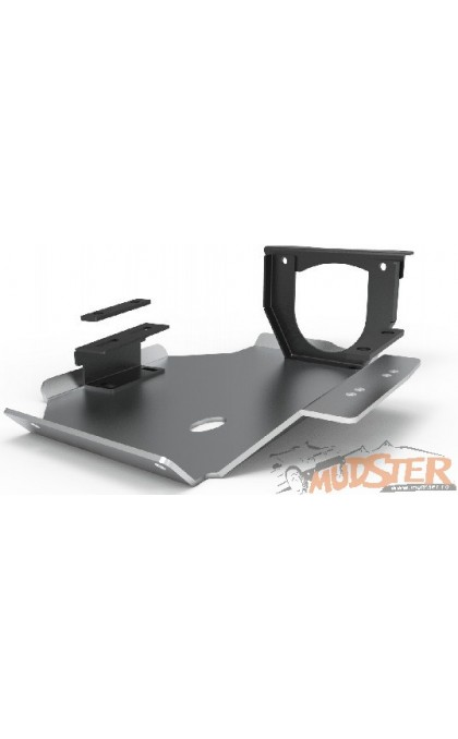 Differential aluminum shield for 2014 - present