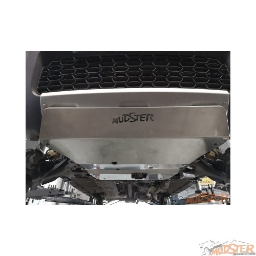 Engine,gearbox and bumper 5mm aluminum shield