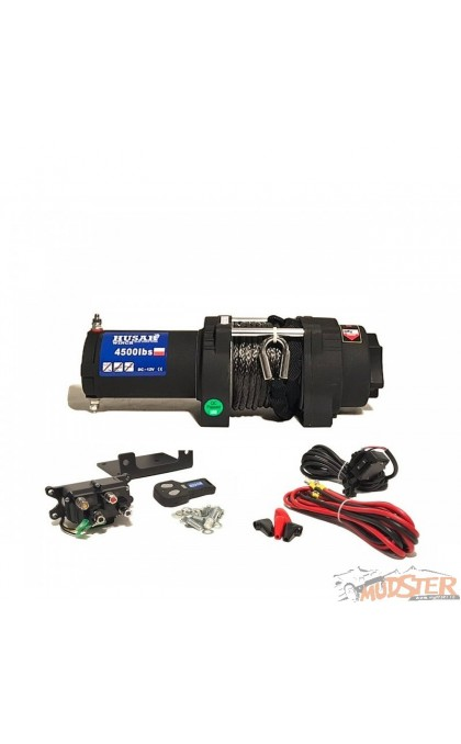HUSAR 4500lb Synthetic Rope Winch