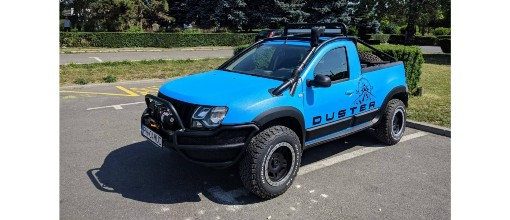 Rare Dacia Duster pickup gets off-road makeover