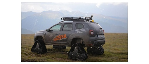 This Dacia Duster wears tracks and it's awesome